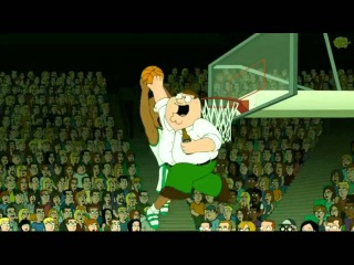 Peter Griffin AMAZING BLOCKED SHOT!!!