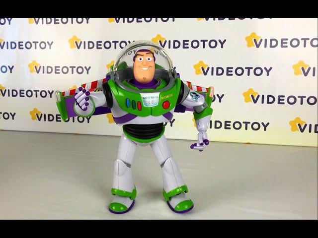 Базз Лайтер Делюкс в космолете - космический рейнджер Buzz Lightyear История игрушек Toy Story