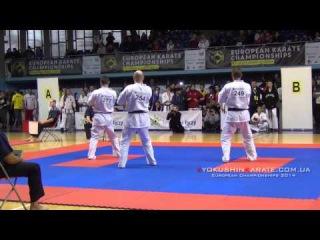EC 2014, Team Kata - Hungary-1 (Kata + Bunkai)