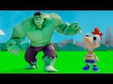 Халк и Финес играют с машинками из мультфильма ТАЧКИ ДИСНЕЙ - Игра МУЛЬТИК для детей