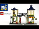 Лего Креатор 31036. Магазин игрушек. Обзор конструктора Lego Toy and Grocery Shop. Картонка