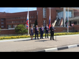 Дмитрий Пуляевский поздравление с Днем флага 22.08.2016