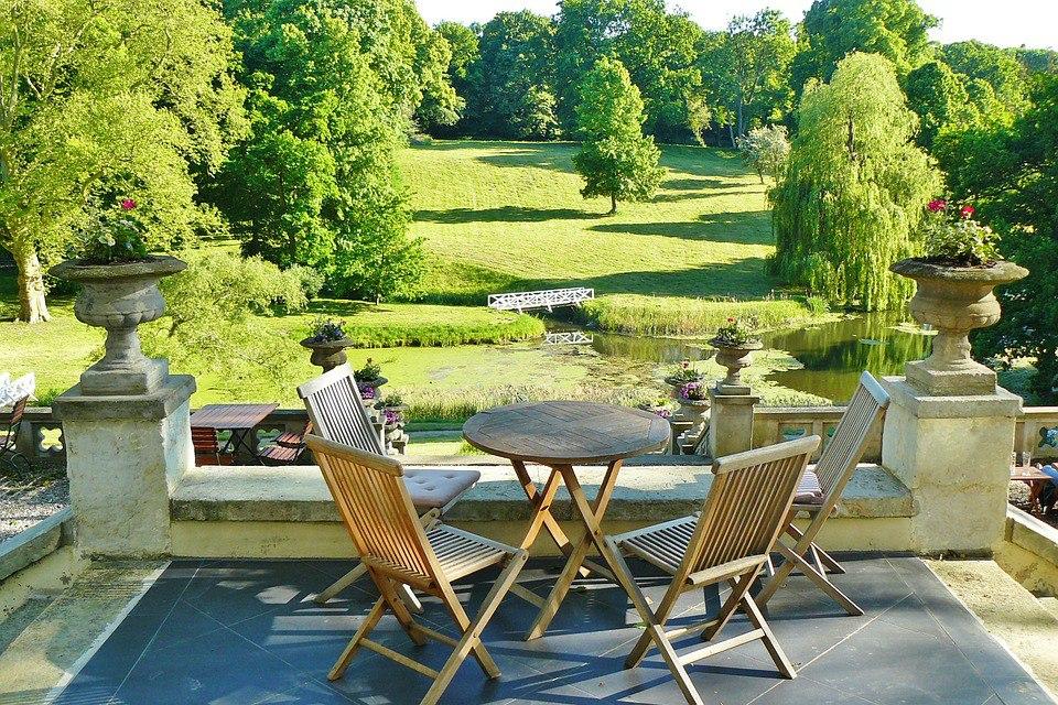 25 идеальных мест для завтрака на открытом воздухе. Бесплатные фотографии