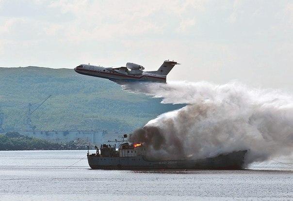 Таганрог поставит МЧС России 6 самолетов-амфибий Бе-200ЧС