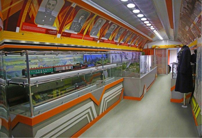 В конце апреля в Таганрог прибудет передвижной выставочно-лекционный комплекс ОАО «РЖД»
