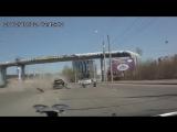 Ужасная авария в Иркутске с расчленением кузова машины