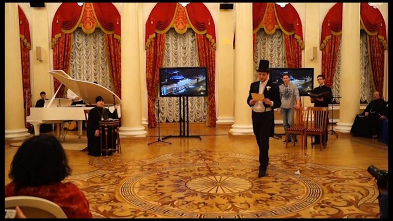 Выступление семинаристов КазПДС на дне православной книги