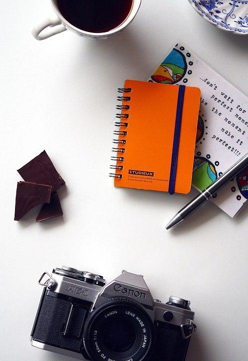 Блокноты и записи: 20 фотографий, которые украсят ваш проект