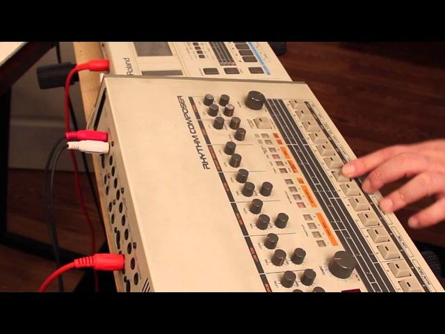 TR 909 TR 727 beats