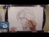 How-To Draw Flynn Rider From Tangled  Disneys Hollywood Studios