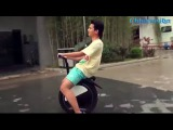 Китайский моноцикл! Chinese unicycle! China mastered mass production.