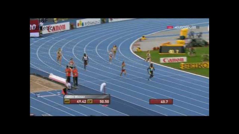 400m Women's Semi-Final 3 - World Junior Championships Bydgoszcz 2016