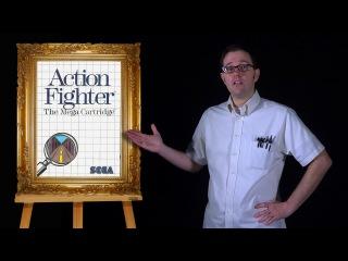 AVGN: Bad Game Cover Art #4 - Action Fighter (Sega Master System)