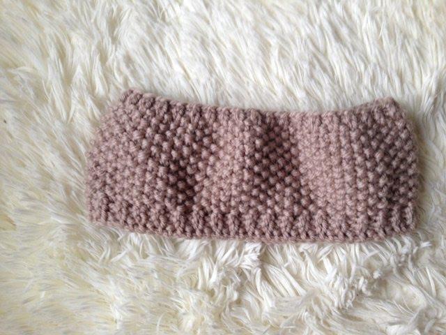 Шарф-снуд спицами детский. Needles scarf child.