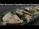 Малосольная Скумбрия Простой и Вкусный Домашний Рецепт
