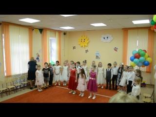 выпускной Сони. прощай детский сад!)))