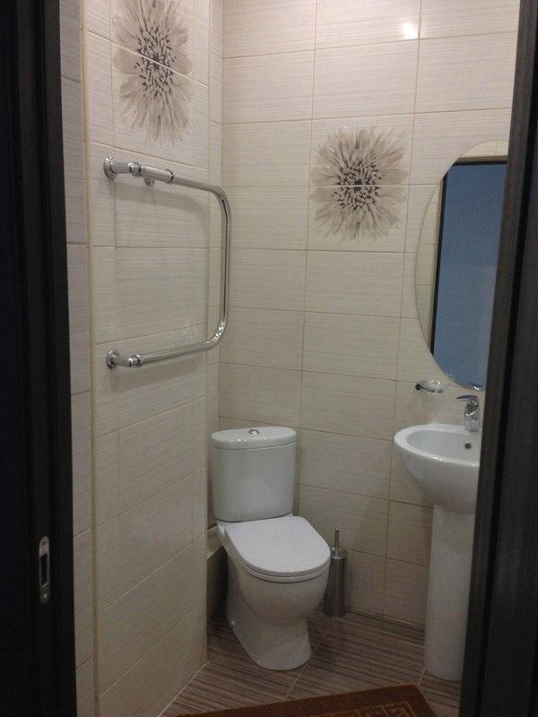 Интерьер квартиры-студии 23 м в Сочи.