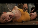 Slave-girl Kristina Rose tied and dominated - Hardcore sex video