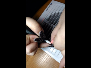 Снятие гель-лака керамической фрезой.Карина Евграфова