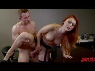 Трахающиеся лесбиянки, рыжая коллегу порно