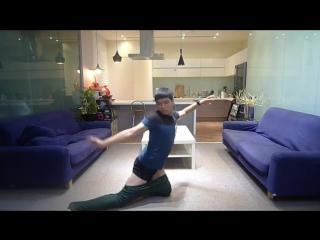 Как одеть штаны без помощи рук (видеоинструкция)