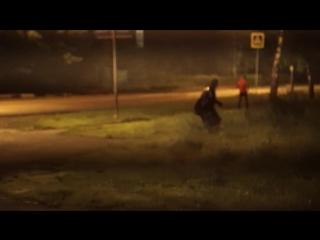 Жнец в Химках. Видео от 6 августа 2016 года.