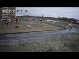 Нападение бродячих собак на человека в Хабаровске