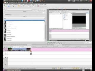 Видеомонтаж в kdenlive. Урок 6  Создание переходов между клипами