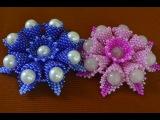Цветы из бисера. Бисероплетение. Мастер класс / Flowers from beads. Beading