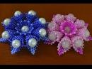 Цветы из бисера Бисероплетение Мастер класс