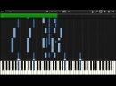 Naruto - ED 1 Wind - Synthesia Piano Tutorial