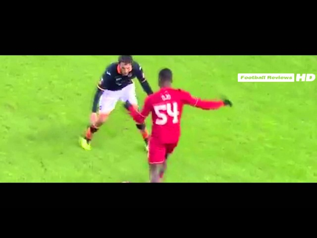 Liverpool vs Exeter city 3-0 Sheyi Ojo Goal