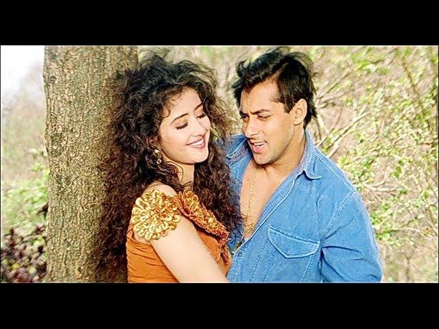Salman Khan Songs Dharti Bane Manisha Koirala Sangdil Sanam Kavita Krishnamurthy