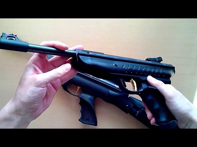 Пневматический пистолет Hatsan MOD 25 SuperCharger SuperTactical (обзор, данные отстрела)