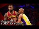 LeBron James vs Kobe Bryant LAST Duel 2016.03.10 - EPIC Battle, 50 Pts Combined!