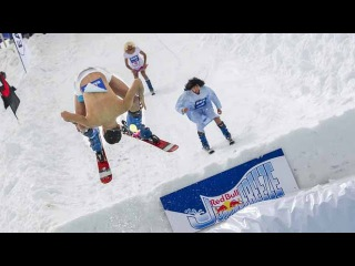Frozen Pool Jumping Contest - Red Bull Jump & Freeze Lebanon