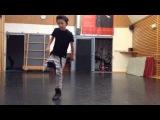 Jibbs-chain hang low ( crizzly &amp afk Remix )dance dubstep -break danceLes vid