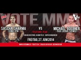 VoteMMA - 13.Fight Title 70Kg - Sascha Sharma (Kongs GYM) vs Michael Böbner (TKBC Luzern,Swizz)
