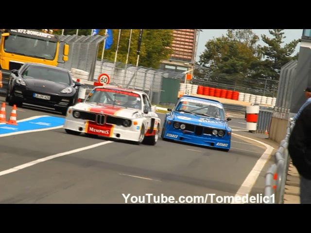 3x BMW 3.0 CSL BatMobile Loud Sounds