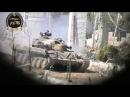 Сирия Танк Асада получает несколько выстрелов из РПГ, выживает и продолжает бой