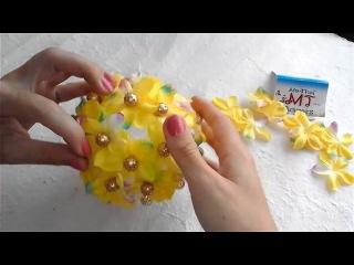 Создаем декоративный шар-украшение из материалов My Thai
