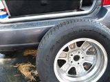 Снятие запасного колеса Тойота Хайландер 2001, 2002, 2003, 2004, 2005, 2006, 2007