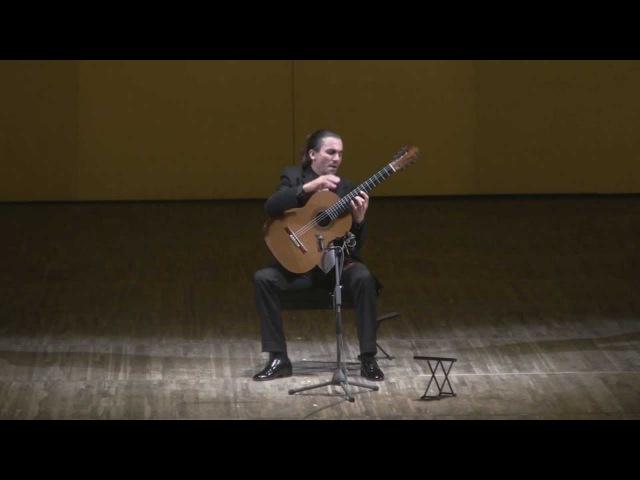 Artyom Dervoed at 'Guitar Virtuosos' 2013 festival - 'Mazurka Appassionata' by Barrios