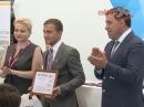 Губернатор Свердловской области и мэр Харбина вручили награды победителям конкурса Минута технославы