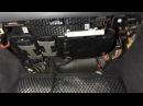 Замена салонного фильтра W211 (В салоне автомобиля) cabin air filter replacement w211
