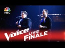 The Voice 2015 Jordan Smith and Adam Levine - Finale God Only Knows