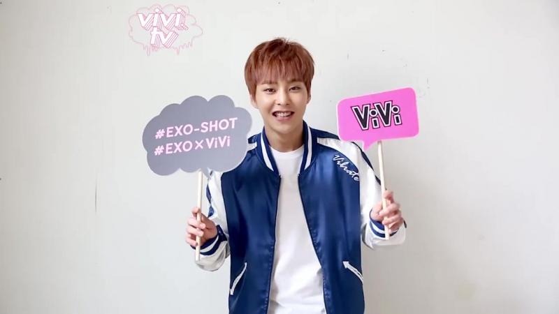 0:16 160715 Xiumin @ EXO×ViVi 連載「EXO-SHOT」vol.5