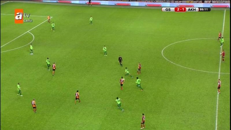 Galatasaray - Akhisar ZTK 2/2