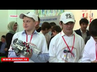 В математической школе Грозного прошел III Республиканский фестиваль Перворобот