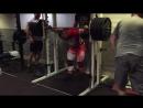 Karol Małecki - 300kg 5x 220kg 5x 140kg 11x